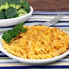 Golden Gooey Sharp Cheddar Mac And Cheese