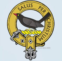 Abernethy Clan Crest: The earliest record of this name is that of an abbott of the Strathearn Monastery of Abernethy in Perthshire in the 12th century. His son was Orm de Abernethy