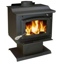 Another small wood stove.