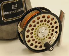 Hardy 'Tealweight II' special run trout reel set for left hand wind