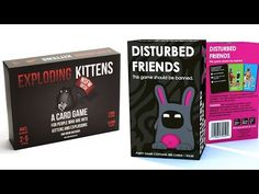 Top 5 Best Exploding Kittens  NSFW Edition Explicit Content
