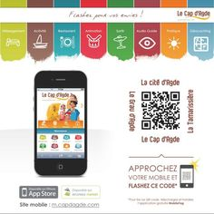 [Best of] Dispositif mobile complet pour l'Office de tourisme du Cap d'Agde.