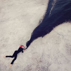 Dreamlike Conceptual Self Portraits Fused with Dance by Kylli Sparre