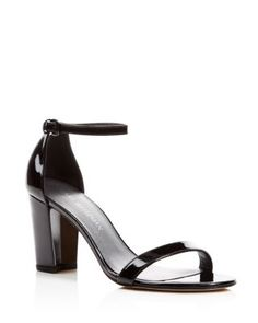 Stuart Weitzman Nearlynude Ankle Strap Sandals, $398 | Bloomingdale's                                                                                                                                                      More
