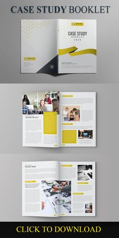 Case Study Template This Modern and Clean Caste Study Template will give you a sample structure for your case study. You can use this Case Study Template to showcase your company's successes and it will help you to gain new customers in the process. brochure, bulletin, business, case study, #casestudy, clean, corporate, creative, design, document, editorial, file, flyer, indesign, informational, marketing, multipurpose, newsletter, presentation, professional, project, report, swiss, template