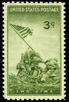 Feb. 23, 1945: During the Battle for #IwoJima, U.S. Marines take the crest of Mount Suribachi, the island's highest peak and most strategic position, and raise the U.S. flag.