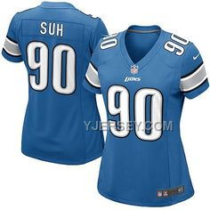 http://www.yjersey.com/nike-lions-90-suh-blue-game-women-jerseys-discount.html NIKE LIONS 90 SUH BLUE GAME WOMEN JERSEYS DISCOUNT Only 36.00€ , Free Shipping!