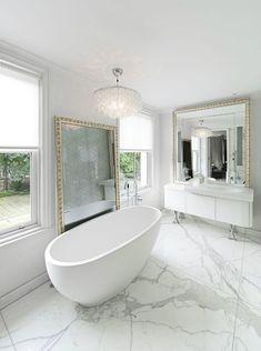 Marble Bathroom Designs | Maison Valentina Blog #interiordesign #bathroomdesign #decoratingideas #marble See more at: http://maisonvalentina.net/blog/marble-bathroom-designs/
