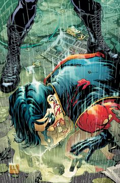 Robin #170 interior art by Freddie E. Williams II - He is my favourite DC artist! (digital artist too!)