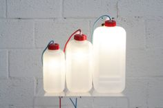 #Taniketta lamp - #Light by the #liter from Lab145 #Design Factory