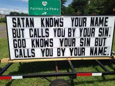 church sign sayings