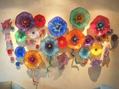 wallpapers: Glass Flowers
