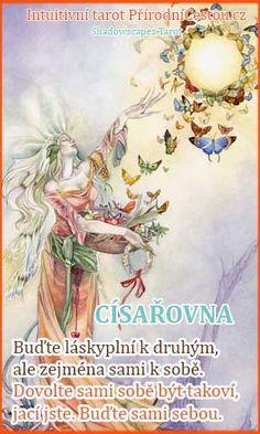 pc-cisarovna Tarot, Fictional Characters, Fantasy Characters, Tarot Cards