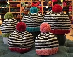 Ravelry: Knitted Pop Hat pattern by Alison Jester