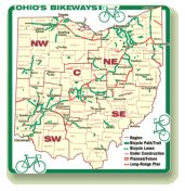for my Dad - Ohio bike trails website