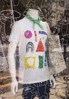Mogu Takahashi Heart For Kids, Guerrilla, Cool T Shirts, Illustration Art, Set Design, Children, Artist, Cute, Writing