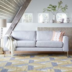 Brighten up your room with a West Elm marco sofa on ShopStyle