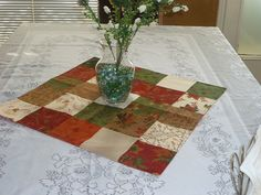 Clearance Special Table Centerpiece Fall Linen by SewWhatFabric