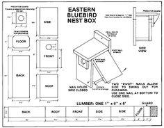 bluebird house plans. Newcomb VIC Offers Family Bluebird Nest Box Workshop - The Adirondack Almanack House Plans R