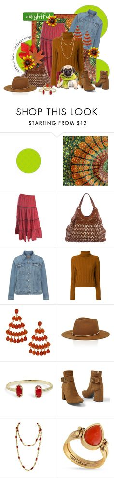 """""""Delightful Day ... Taking a walk in the park with my Buddy !!"""" by fashiongirl-26 ❤ liked on Polyvore featuring WALL, Nancy Gonzalez, Levi's, The Gigi, Kenneth Jay Lane, Janessa Leone, Kendra Scott, Venus, Chanel and Lucky Brand"""