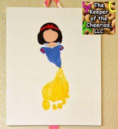 Princess Footprints 2