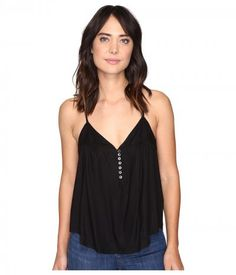 Rip Curl - Nightscape Solid Top (Black) Women's Sleeveless