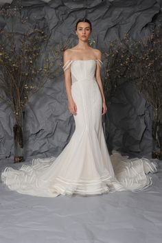 Austin Scarlett Bridal Spring 2017 | #BridalFashionWeek #WeddingDress