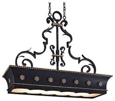 An elegant large black chandelier that's great for kitchen lighting, over a pool table and more. Uses twelve 60 watt bulbs (not included). Style # 93973 at Lamps Plus. Island Pendant Lights, Island Pendants, Linear Chandelier, Chandelier Lighting, Chandeliers, Metropolitan Lighting, Pool Table Lighting, Lighting Ideas, Kitchen Island Lighting