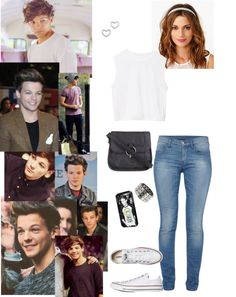 """Date with Louis Tomlinson ♡"" by jennybiebs-1d ❤ liked on Polyvore"