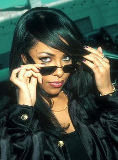 Aaliyah bein' cool.