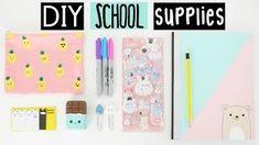 DIY SCHOOL SUPPLIES For Back To School! nim c - Google Search