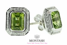 With its green colour, #peridot has been linked to #success, #peace, and good #luck. #montashjewellerydesign