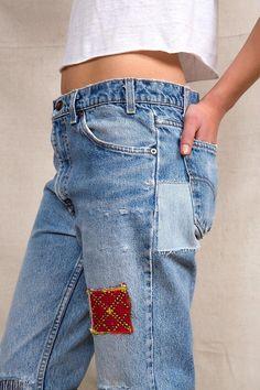 HYM Salvage X Urban Renewal Rip + Repair Jean