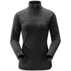 Arc'teryx Rho LT Zip Neck Top - Women's Black, XS by Arc'teryx. $79.99. Enabling warm, dry next-to-skin wicking performance, the Arcteryx Rho LT Zip Neck for women uses lightweight synthetic fibers to move moisture rapidly, and a silver ion treatment to remove odor during an endurance endeavor. An ideal warmth-to-weight ratio base layer for backcountry adventurers, the clean detailed Rho is designed for year 'round use. No-lift underarm gussets, that let you raise your a...
