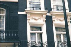 Half Moon Street, London.
