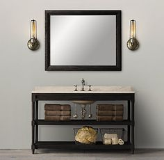 bathroom restoration hardware vanity sink sinks vanities forward
