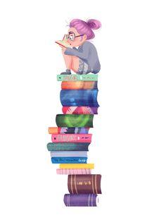 Book geek!!!  Love it!!!