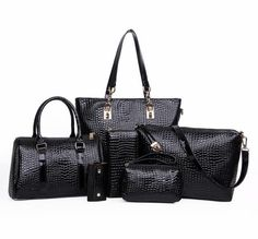 Cheap handbag ipad, Buy Quality handbag bag directly from China handbag 20 Suppliers: 6 Bags Crocodile Pattern Women Bag Stone Women Handbag Pu Leather Shoulder Bag Women Messenger Bags Lady Day Clutch Tote Bolsas Leather Purses, Leather Handbags, Pu Leather, Patent Leather, Leather Bags, Leather Clutch, Crossbody Messenger Bag, Satchel, Backpack