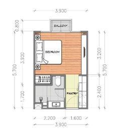 Studio Apartment Floor Plans, Studio Floor Plans, Hotel Floor Plan, Studio Apartment Layout, Apartment Plans, House Floor Plans, Master Bedroom Plans, Bedroom Floor Plans, Hotel Room Design