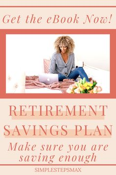 This retirment savings plan ebook covers everything from calculating how much you need to save for retirement to ideas for budgeting and investing tips. Your personal finances will be greatly improved after implementing the steps outlined in this ebook. Start reading the Best Retirement Savings Plan ebook today! #retirement #financialtips #personalfinance #investing Retirement Savings Plan, Saving For Retirement, Early Retirement, Financial Tips, Financial Planning, Ebook Cover, Life Goals, Personal Finance, Saving Money