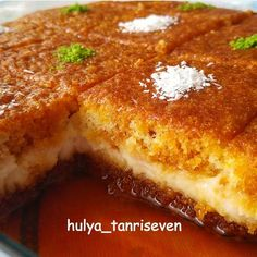 10 Minuets : A delicious dessert recipe . Turkish Recipes, Ethnic Recipes, Middle Eastern Desserts, Turkish Sweets, Arabic Sweets, Delicious Desserts, Yummy Food, Iftar, Cookie Desserts