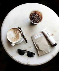 The only thing better than a hot cup of coffee in the morning is a cold cup of coffee on a hot morning. With some iced-coffee handy and a cool pair of shades to top it off, we're pretty much ready to conquer the day. No,wait.. week.