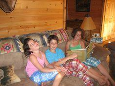 Kids in the Finn residence in Montana