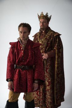 "Sam Ashdown as Prince Hal and Larry Bull as King Henry IV in Utah Shakespeare Festival's 2014 production of ""Henry IV Part One."" (Photo by Karl Hugh. Copyright 2014 Utah Shakespeare Festival.) www.bard.org"