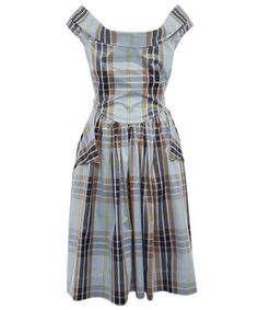Blue Tartan Amaryllis Dress Tartan Fashion 60a3c055f9860