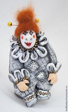Клоун Джованни. Ёлочные игрушки. - клоун,новогодние клоуны,клоун клоуны