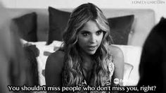 Find images and videos about quote, people and pretty little liars on We Heart It - the app to get lost in what you love. Sad Movie Quotes, Ouat Quotes, Sad Movies, Tv Show Quotes, Funny Quotes, Pretty Little Liars Series, Pretty Little Liars Quotes, Pretty Litte Liars, Hanna Marin Quotes