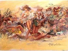 Ελαιογραφία Μουρατίδου 50x70