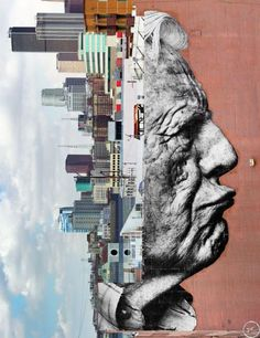 JR - The Wrinkles of the City - Los Angeles (2011)