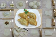 Russian Recipes, Curry, Food And Drink, Pastel, Asian Foods, Cheese, Snacks, Sweet, Life